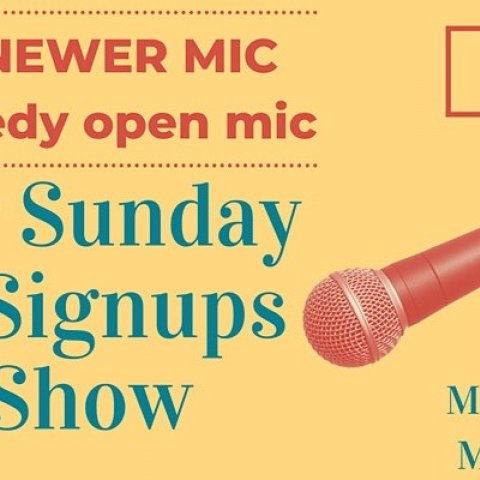 The Newer Mic - Comedy Open Mic @ Abyssinia