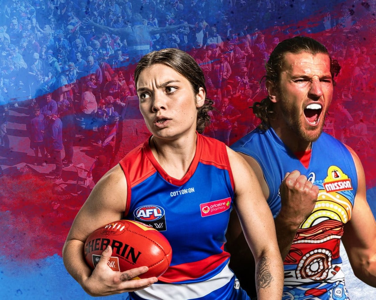 Western Bulldogs v Carlton - Centre Wing tickets