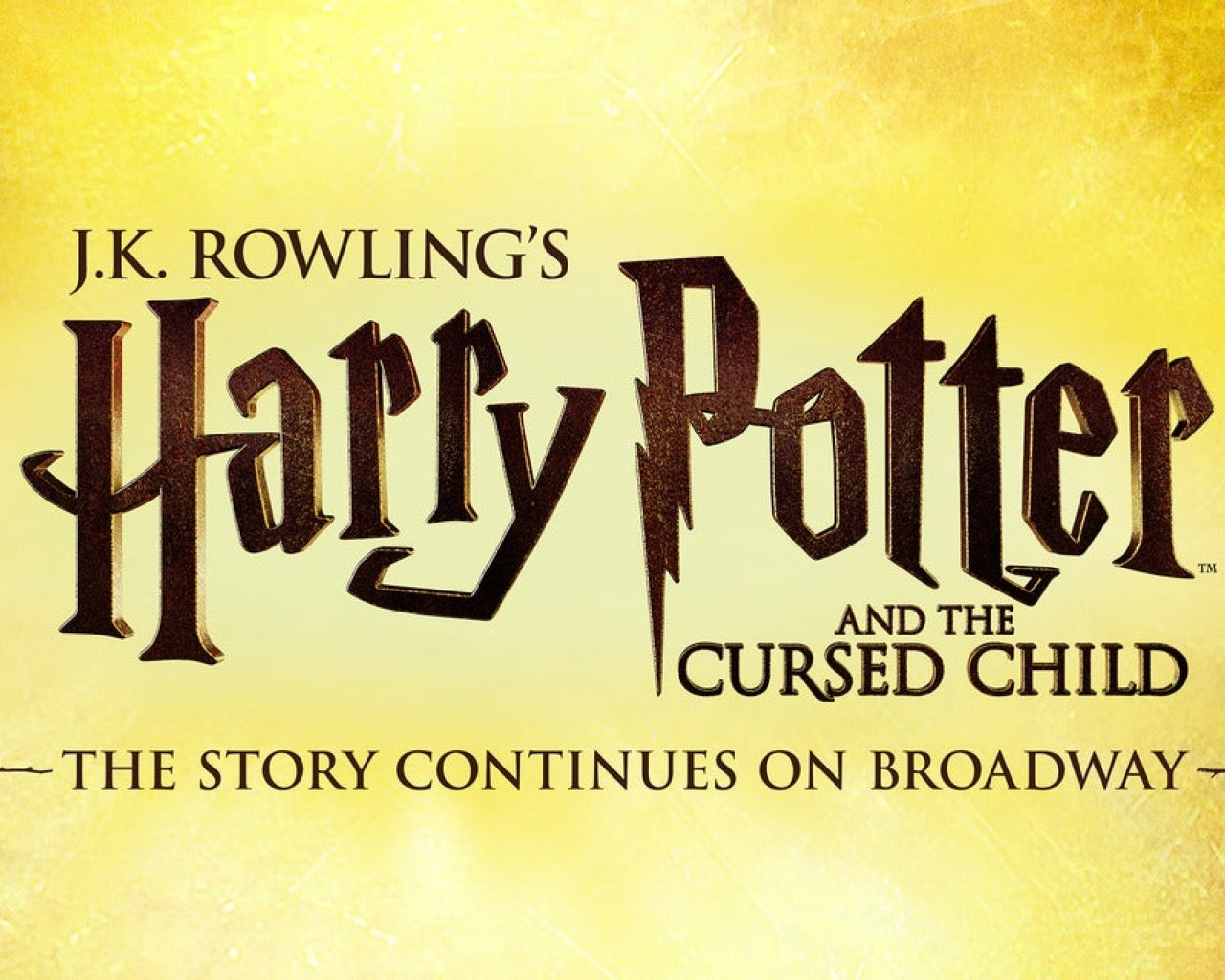 Harry Potter and the Cursed Child - Parts 1 & 2 Weds 14:00 & 19:30 tickets
