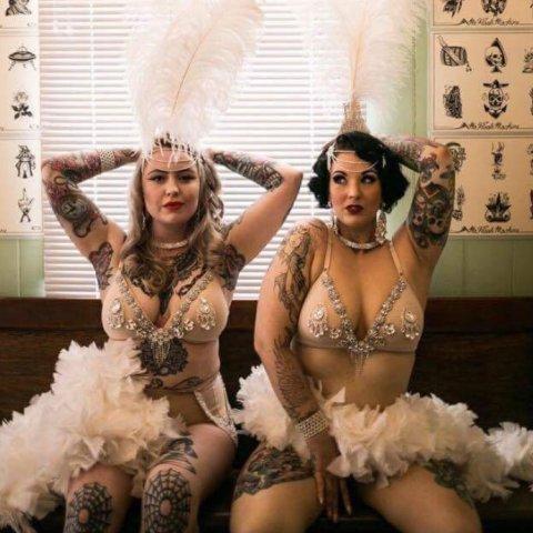 Chevron Showgirls