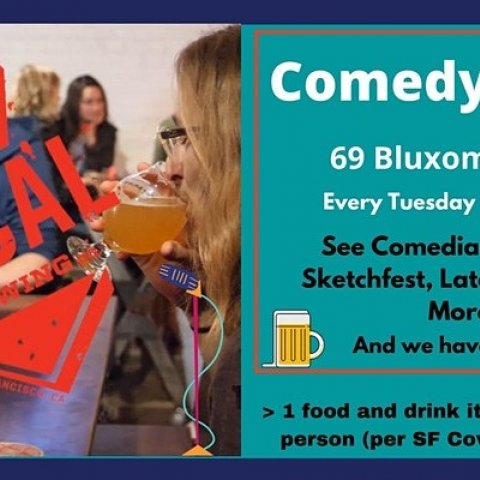 Live Comedy at the San Francisco Local Brewing Co.
