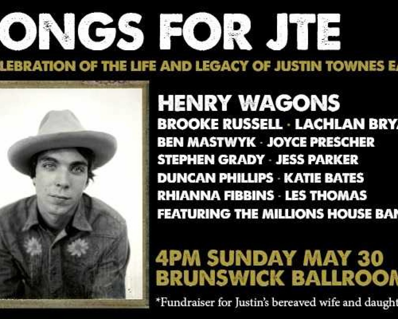 Songs for Justin Townes Earle tickets