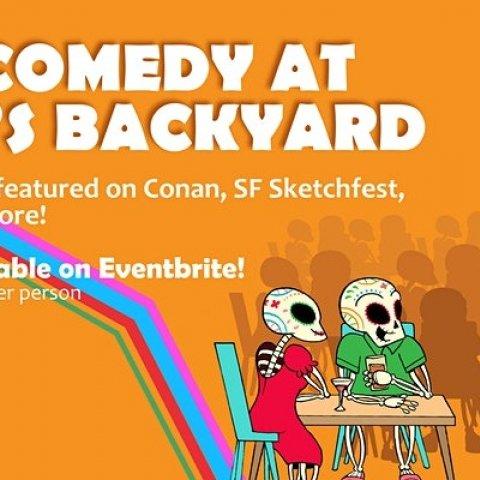 Live Comedy at Nido's Backyard